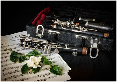 Clarinet with Gardenia - Richard Kujda