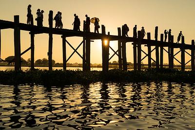 U Bein Bridge - Dick Beilby