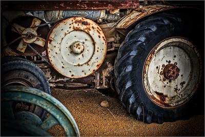 Old Tractor - Jocelyn Manning