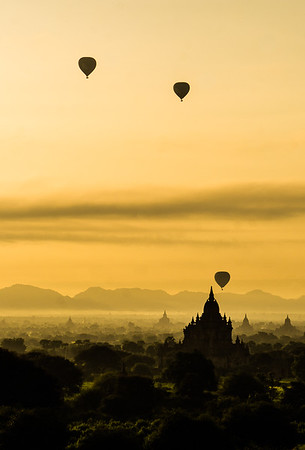 Balloons Over Bagan - Ann Jones