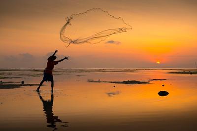 Fishing at Dawn - Dick Beilby
