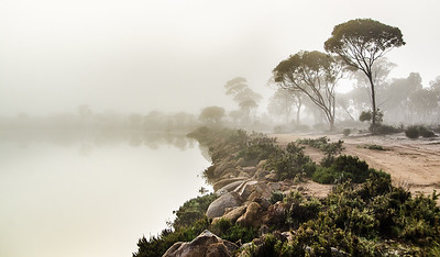 Mist on Magic Lake - Kim McAvoy