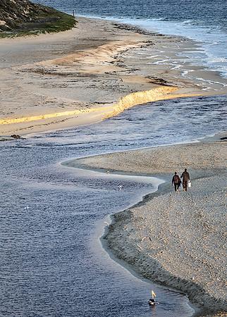 A Walk on the Beach - Susan Moss