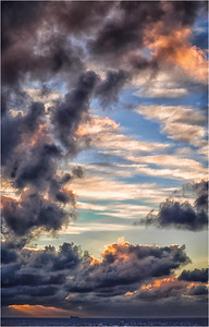 Storm Clouds at Sea - Richard Goodwin