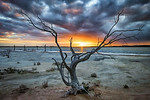 Salt Lake Sunset - Ray Ross