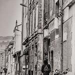 Backstreet With Bikes - Richard Goodwin