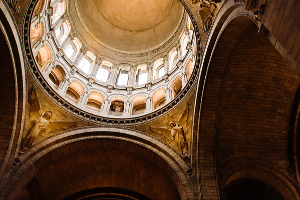 Inside Sacre Couer - Kim McAvoy