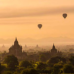 Bagan Dawn - Ann Jones