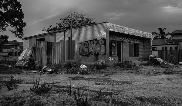 Abandoned on Garrett Road - Michele Augustyn