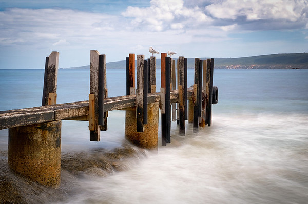Jetty Scape - Ray Ross