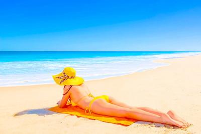 Sunbathing - Dick Beilby