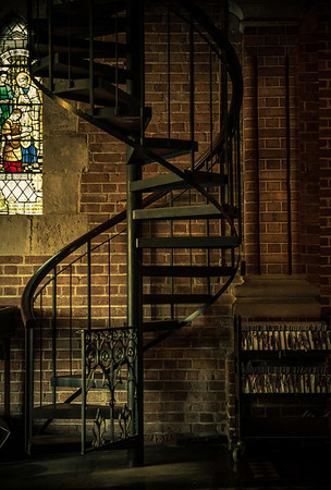 Abbey Stairs - Lemuel Tan