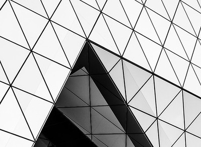 Triangles in B&W - Ann Jones