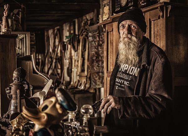 Old Wares Dealer - Richard Goodwin