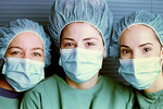 Surgery Girls on Slide Film - Glen Moralee