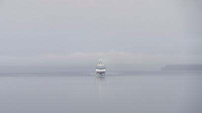 Emerging from the Mist - Richard Kujda