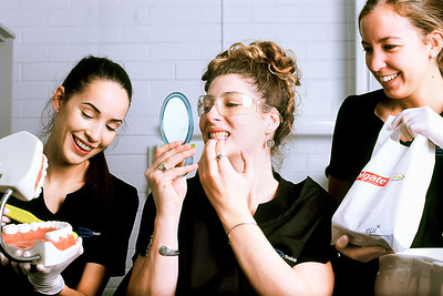 Tooth Girls on Slide Film - Glen Moralee