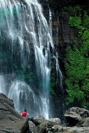 At the Falls - Phil Burrows