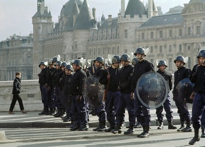 Paris Riot Police - Steve Brown