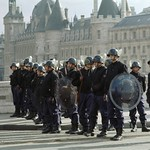Paris Riot Police - Steve Brown