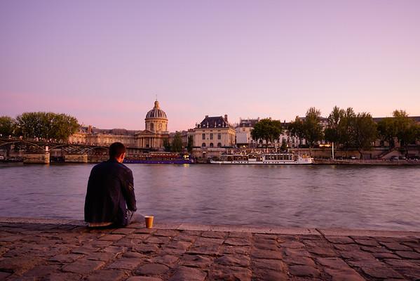 Coffee by the Seine - Munib Fetahovic