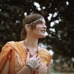 Girl in Orange - Glen Moralee