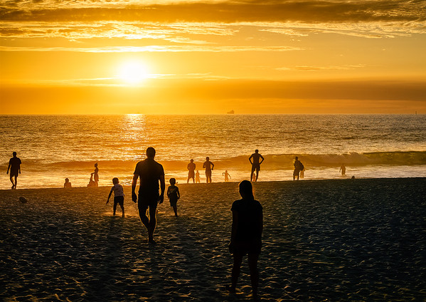 Social Distancing Sun Worshipers - Derek Judkins