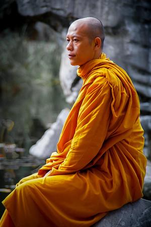 Buddhist Monk - Steve Brown