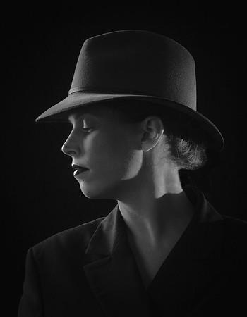 The Lady in a Hat - Michele Augustyn