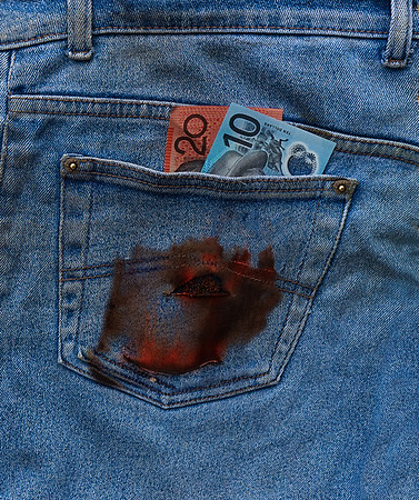 Money Burns a Hole in my Pocket - Fred Armstrong