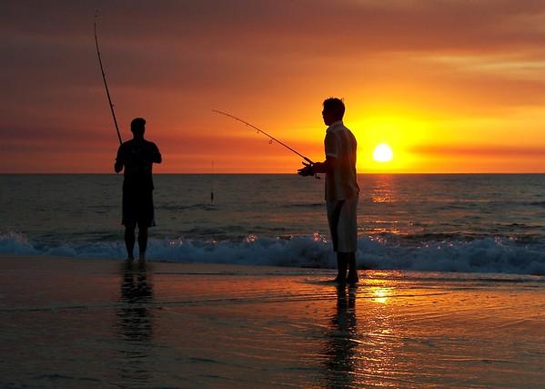 Shoreline Sunset - Steve Brown