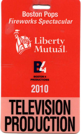 Worked as an A2 on the Sheffield Remote Recording Truck. This was for the annual Boston Pops Symphony Orchestra 4th of July celebration in Boston from the Hatch Shell. It airs live nationally July 4th on CBS. This year's guest performer was Toby Keith.