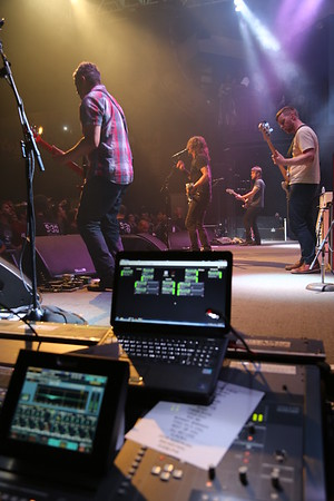 Worked for the Foo Fighters at the 9:30 Club in DC as recording A2