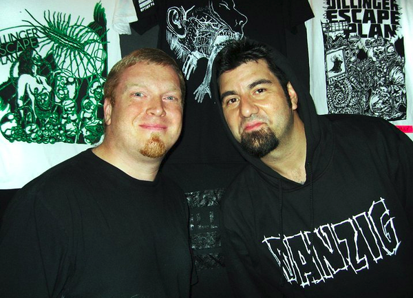 Hanging with Chino from The Deftones at Sonar in Baltimore
