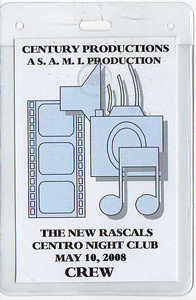 Worked as an A2 on the Sheffield Remote Recording Truck on location in New Jersey. This was for Rock & Roll Hall of Fame Legends, The Rascals live DVD.
