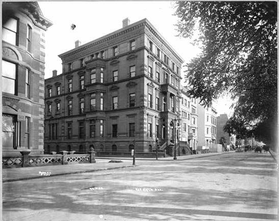 Father Pell's house at 990 FIfth Avenue and 2 East 74th Street