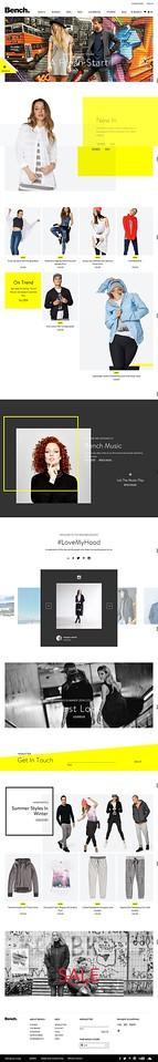 Bench Retail Website