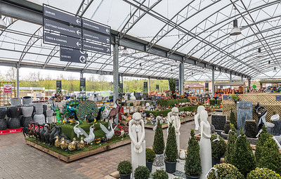 Interior and exterior architectural photography of Dobbies - Livingston