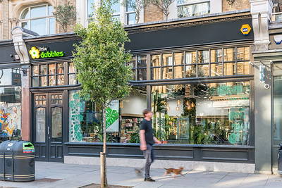 Interior and exterior architectural photography of Dobbies - Westbourne Grove, London