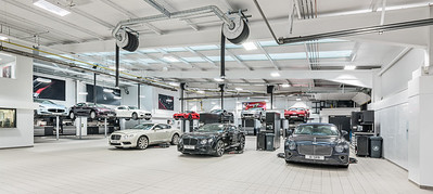 Graypaul Edinburgh, car workshop photography
