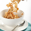 Pouring breakfast cereal