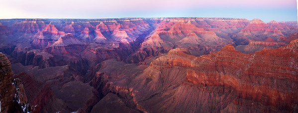 Mather Point Pano