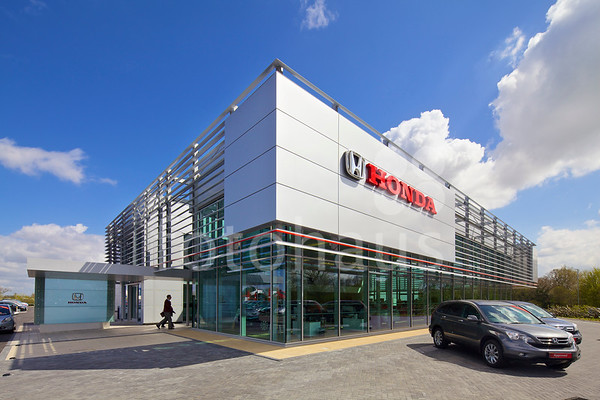 Honda and Hyundai, car dealerships, Cheshire Oaks Retail Park