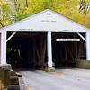 Ramp Creek Bridge in Fall
