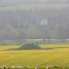 Burial mound, near Newgrange, Ireland.
