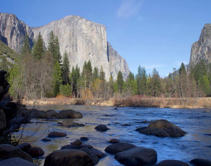 El Capitan with River