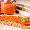 Ajvar on the bread