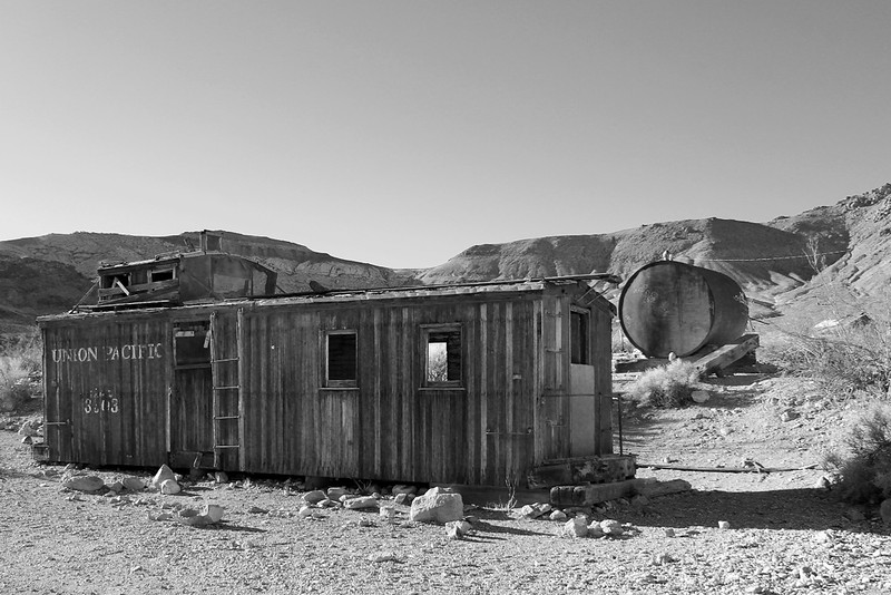 Caboose in Ruins
