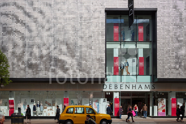Project Lions, Debenhams, Oxford St