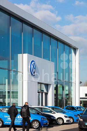 VW Showroom, Exeter